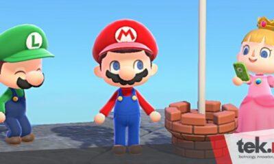 Animal Crossing: New Horizons kedatangan Super Mario Bros.