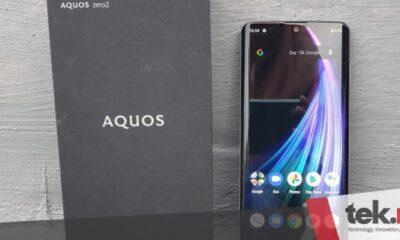 Review Sharp Aquos Zero 2, si smartphone teringan di dunia