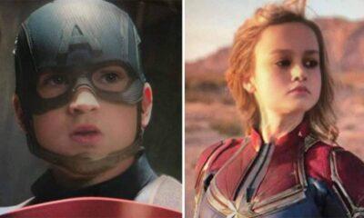 Foto editan tokoh Avengers
